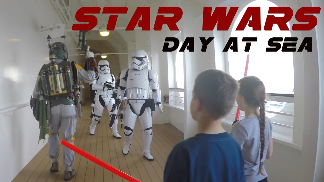 First Star Wars Day At Sea Cruise Disney Cruise Line