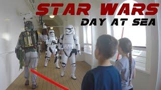 First Star Wars Day at Sea Cruise | Disney Cruise Line Fantasy ship | 4K