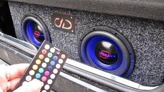 how to make a led car diy rgb strip light audio subwoofers install trunk wire a rgb led 12v idea