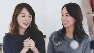 モデル・舞川あいくさんと、TBSアナウンサーの出水麻衣さんのスペシャル...