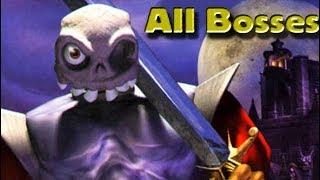 MediEvil (PS1) All Bosses (No Damage)