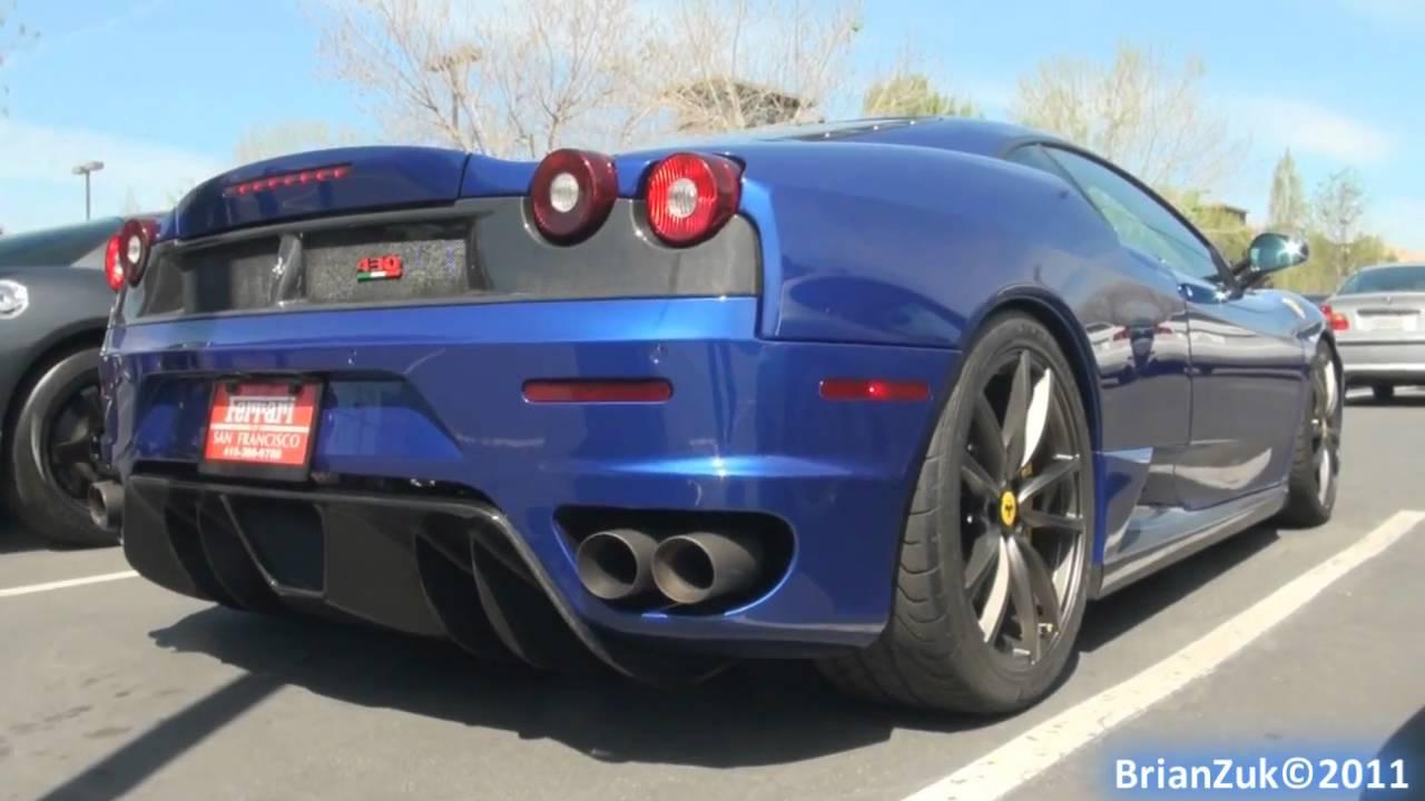Ferrari F430 With Fabspeed Exhaust Youtube