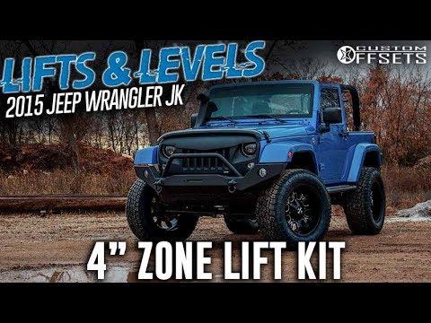 Lifts Levels 4 Zone Lift Kit 2015 Jeep Wrangler Jk Youtube