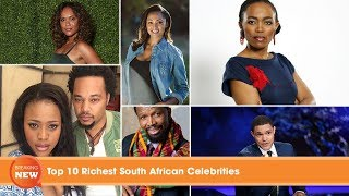 Gambar cover Top 10 Richest South African Celebrities