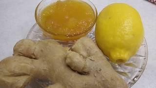 Имбирь🥜Лимон 🍋Мед🍯 Творят Чудеса💯✔️✔️✔️🤒🤧😷❌❌❌ginger. lemon. honey.