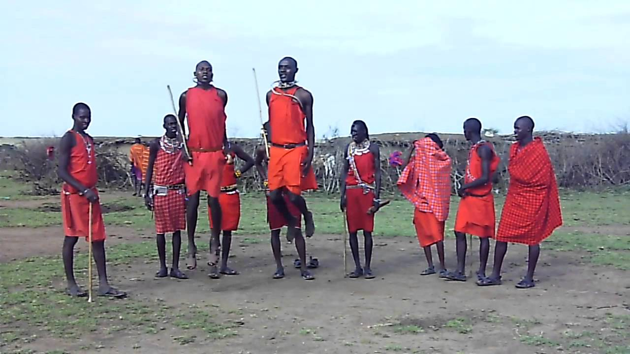 Dance with the Maasai People !   Tourism on the Edge
