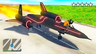 Stealing World's FASTEST Plane in GTA 5 (GTA 5 Mods)
