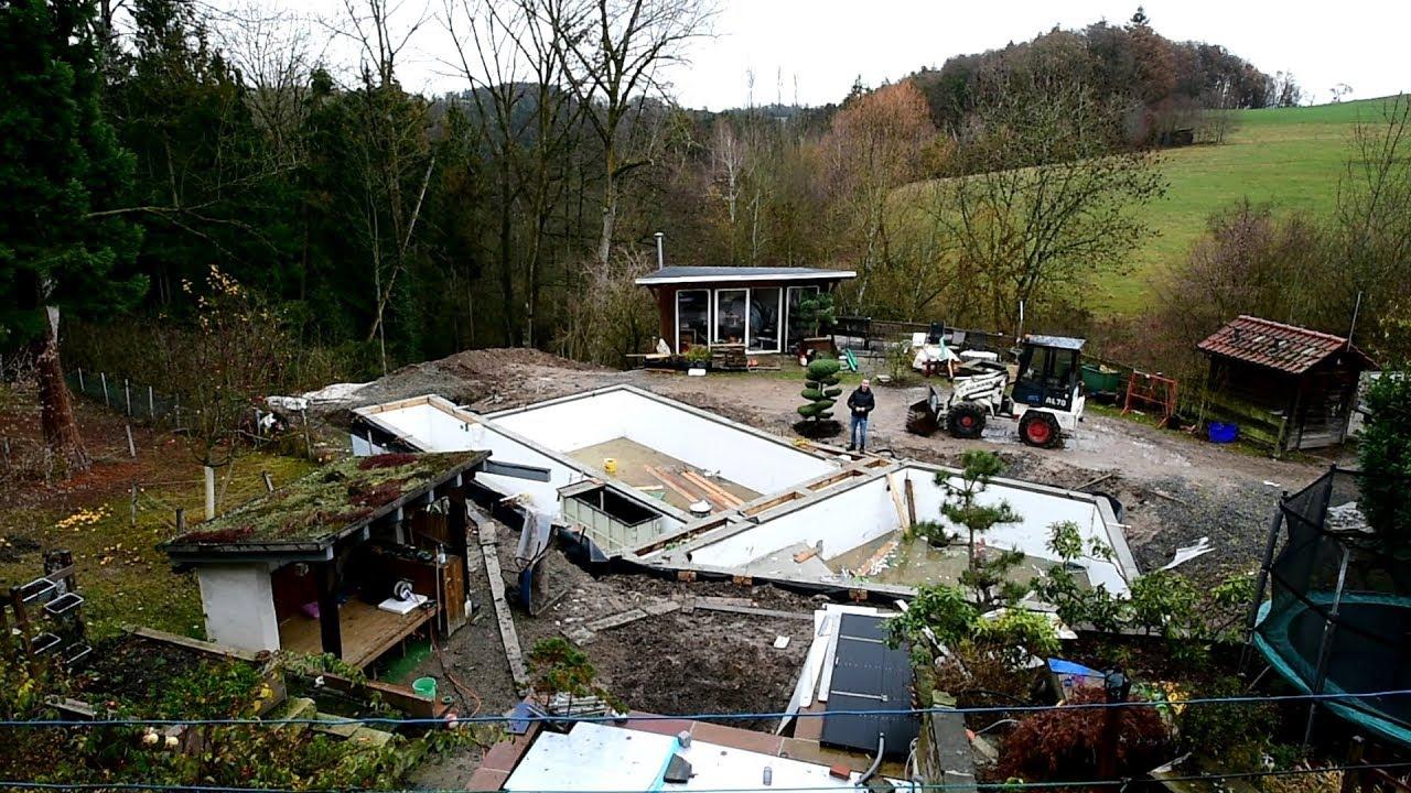 Modern Koi Blog #2981 - Tobias' ambitioniertes Koiteich- und Poolbauprojekt