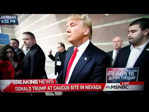 Video of the moment when Trump cucked Glenn Beck at caucus site
