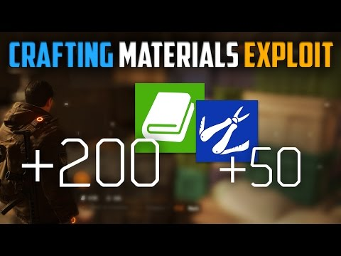 The Division | Fast Crafting Materials Exploit Tutorial [Still Working]