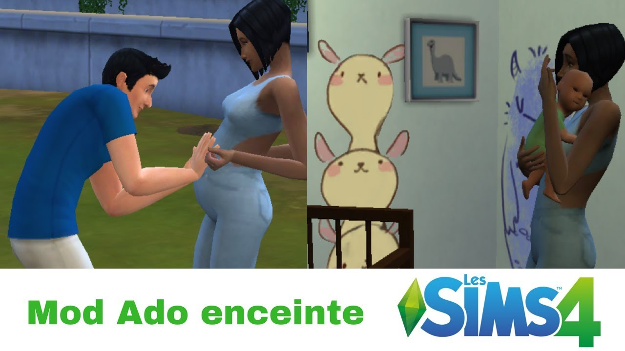 Mod Ado Enceinte Sims 4 YouTube