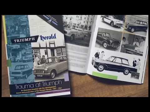 New Triumph Herald Book - Worldwide shipping!