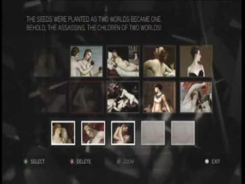 Assassins Creed 2 Glyph Puzzle Walkthrough 11-20