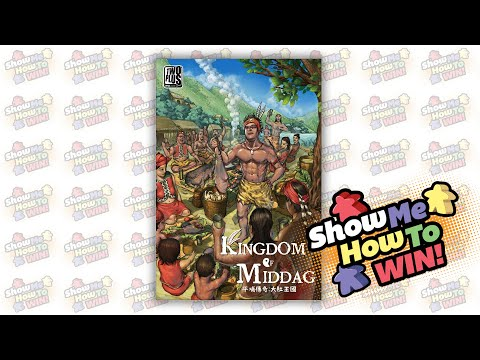 Kingdom of Middag 平埔傳奇:大肚王國 Strategy Tips with Jog Kung (with ENG CC)