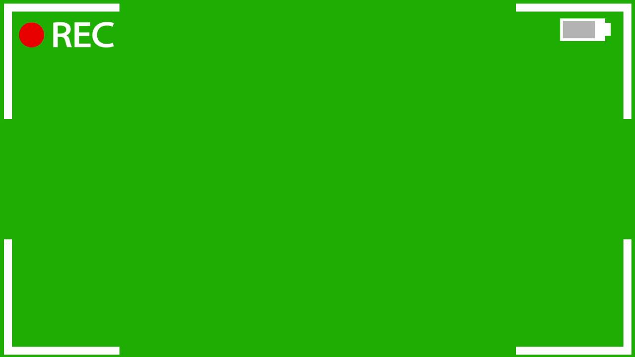 Camera Recording Green Screen Effect (Free Download)