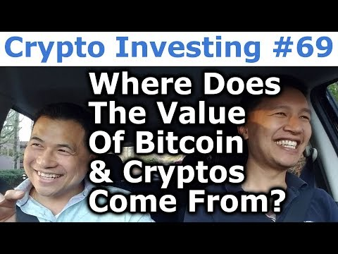 Crypto Investing #69 - Where Does The Value Of Bitcoin & Cry