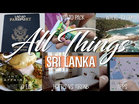 ULTIMATE TRAVEL GUIDE TO SRI LANKA 4K | WATCH BEFORE GOING