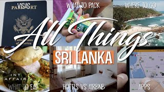 THE ONLY TRAVEL GUIDE YOU'LL NEED TO SRI LANKA 4K | WATCH BEFORE GOING