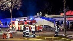 20.01.2019 - VN24 - Feuer auf dem Dach eines Restaurants in Dortmund Eving
