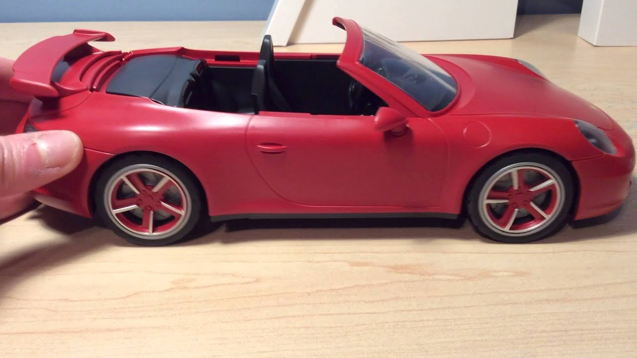 playmobil porsche 911 carrera s review youtube. Black Bedroom Furniture Sets. Home Design Ideas