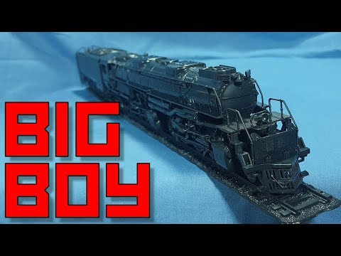 Revell Union Pacific Big Boy Locomotive [1:87]