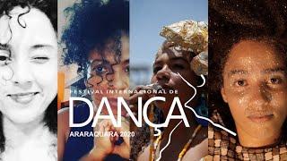 """Encontros: """"Insurgências de corpos negros femininos no fazer artístico""""  - FIDA 2020"""