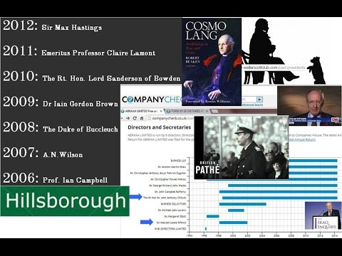 Hillsborough Irish Troubles, Walter Scott Traitors £££Bn, Rifkind, Chilcot, Ibrox EMPIRE WW2 speech1