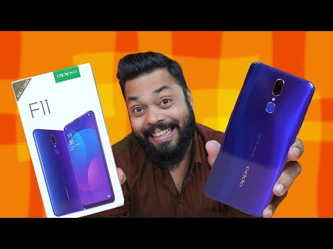 OPPO F11 Unboxing & First Impressions ⚡ ⚡⚡ Jaaniye Sab Kuch