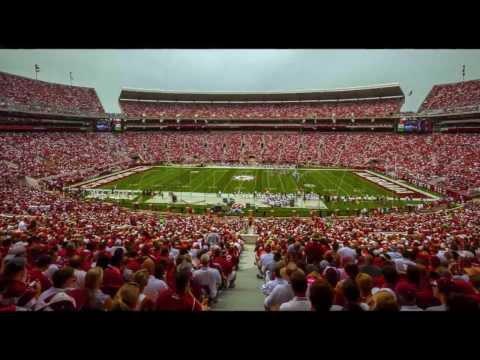 Alabama Crimson Tide Bryant-Denny Stadium Photos Bear Bryant College Football