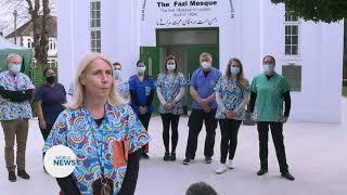Fazl Mosque hosts Covid 19 Vaccine Drive