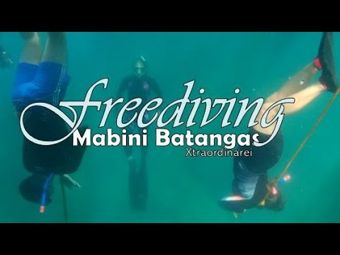 Freediving   Mabini Batangas   Vertical Freediving