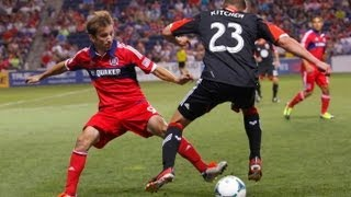 HIGHLIGHTS: Chicago Fire vs DC United | July 20, 2013