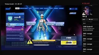 LIVE FORTNITE PART PERSO WITH MINI BUGHA ' !!! #fr #pp #live