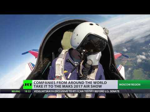 MAKS 2017 Air Show gathers around 800 companies from across world