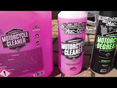 Quick Muc Off Moto Cleaning Video - Yamaha R1