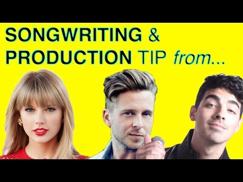 How to Write Catchy Lyrics Like Taylor Swift & OneRepublic - Juxtaposition