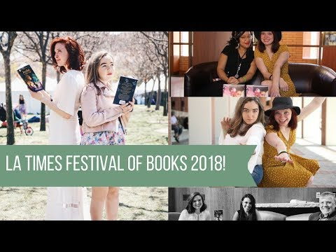 LA Times Festival Of Books 2018! | VLOG!