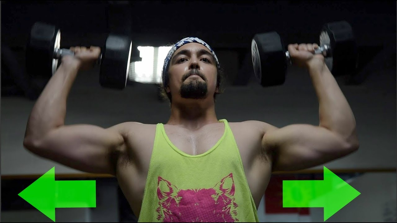The CURE For Small Shoulders (How To Get WIDER Shoulders)