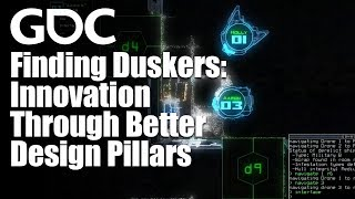 Finding Duskers: Innovation Through Better Design Pillars