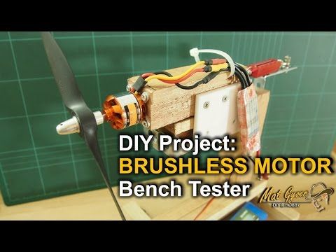 Brushless Motor Thrust Bench Tester