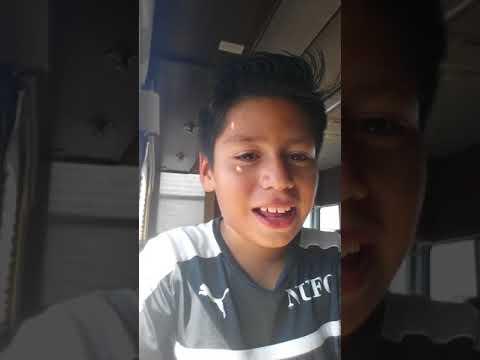 Vlog #1  bottle flip challenge in a RV