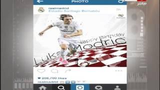 #النهار _news |  شيما صابر تهنئ اللاعب أحمد الشيخ بعيد ميلاده الـ 23