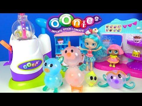 Oonies Balon Makinesi Ile Yapışkan Balondan Hayvan şekilleri LOL Bebek Cicibici Kızı Balon Challenge