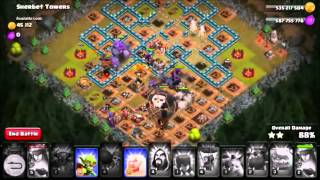 CLASH OF CLANS MOST OP ATTACK EVER 3 STAR ANY BASE