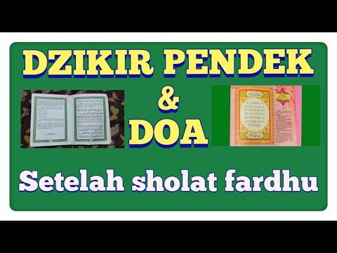BACAAN DZIKIR PENDEK SETELAH SHOLAT FARDHU // READING SHORT DZIKIR AFTER FARDHU PRAYER