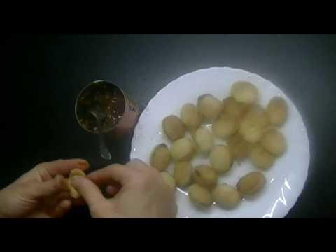 Тесто для орешков со сгущенкой