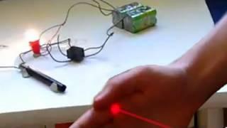 Eclairage automatique - détecteur de mouvement fait maison