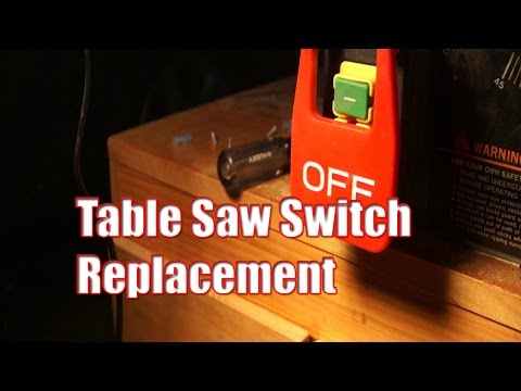 [SCHEMATICS_48ZD]  Table Saw Switch Replacement - YouTube | Delta Table Saw Wiring Diagram |  | YouTube