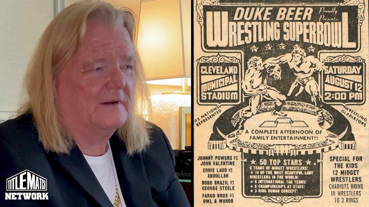 Greg Valentine - Superbowl of Wrestling 1972 (Before Wrestlemania or Starrcade)