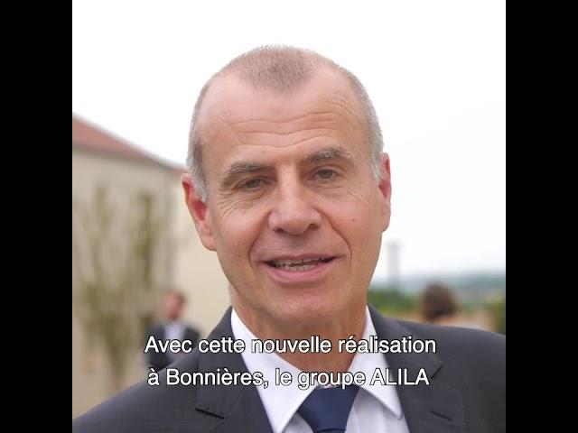 ALILA - Inauguration de OPUZ VERDE à Bonnières - Christophe BLINTZ - Directeurs des partenariats